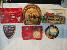 Antique needle packs 6 various give away packets some are shy of needles good