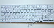 OEM Sony Vaio VPC-EB11FM VPC-EB15FM White Keyboard NEW