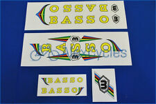 Vintage Campagnolo BASSO Campagnolo Decals Set + 17 Gift Stickers FREE