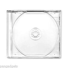 1 x CD Double Jewel Cases With Clear Tray