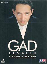 2 DVDS ZONE 2 SPECTACLE COLLECTOR--GAD ELMALEH--L'AUTRE C'EST MOI