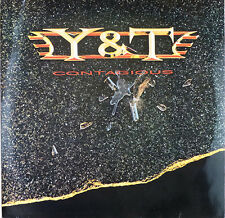 Y & T-Contagious-LP-Slavati - cleaned - # L 1587