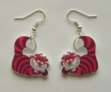 New From  Alice in Wonderland  Movie,  Book, The Cheshire Cat  earrings