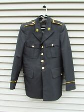 US Army Military Uniform Blazer For Men Size 38 Single Vented Back Gold Buttons