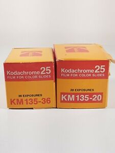 2 Rolls - Vintage Kodak - Kodachrome ll Slide Film - 35mm - New/Old Stock