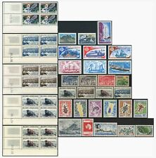 France Antarctic TAAF 1956-80 Unmounted Mint odds + Blocks ..Priced as Groups
