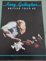 RORY GALLAGHER 1980 BRITISH TOUR PROGRAMME
