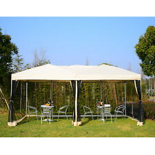 3 X 6 M Garden Patio Gazebo Wedding Pop-up Party Tent Canopy Sun Shade