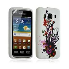 Housse coque étui gel pour Samsung Galaxy XCOVER motif S5690 HF12 + Film protect