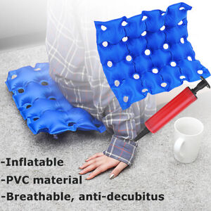 Air Inflatable Seat Cushion Home Office Portable for Wheelchair Office