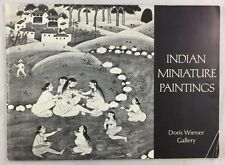 Art Exhibition Catalogue 1970 Indian Miniature Paintings Wiener Gallery New York