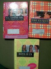 The Clique Series by Lisi Harrison (2004, HC) ~ The Clique, P.S. I Loathe You &