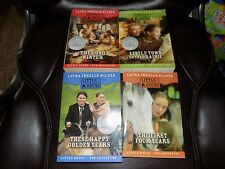 LITTLE HOUSE ON THE PRAIRIE BOOKS BY LAURA INGALLS WILDER SCHOLASTIC SET OF 4