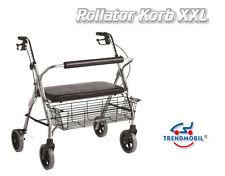 XXL Rolltor Korb Ersatzkorb Einkaufskorb Gehwagen LR Rollatorkorb 20Kg m. Henkel