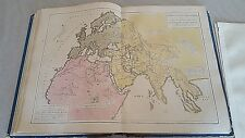 1843 OLD PRINT MAP CARTINA ANTICHE MONARCHIE PERSIANA MACEDONE ROMANA   12/17