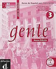 Gente 3, libro de trabajo + CD (Spanish Edition)