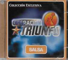 Operacion Triunfo - Coleccion Salsa CD 2002