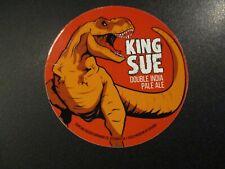 TOPPLING GOLIATH BREWING King Sue pseudo di METAL TACKER SIGN craft beer brewery