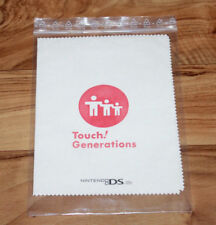 Nintendo DS Lite touch generations Promo pañuelo Screen cleaning cloth Nintendo