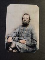 Sixth-Plate Civil War Stonewall Tintype C2353RP