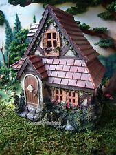 Miniature Fairy Garden Cottage House with Shingle Roof  30005337 Dollhouse