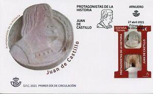 Spain Architecture Stamps 2021 FDC Juan de Castillo Architects People 1v Set