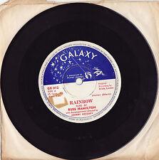 RUSS HAMILTON - RAINBOW / WE WILL MAKE LOVE Ultrarare 1957 Aussie Single Release