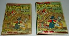 "Disney 1933 ""Silly Symphonies"" Pop-Up Book+Dust Jacket-Rare Near Mint(Vf 9.0)�"