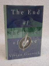 SIGNED Vivian Gornick THE END OF THE NOVEL 1997 Beacon Press Boston 1stEd