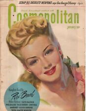 1946 Cosmopolitan January - Husbands come First; Bermuda; Faithf Baldwin;Banning