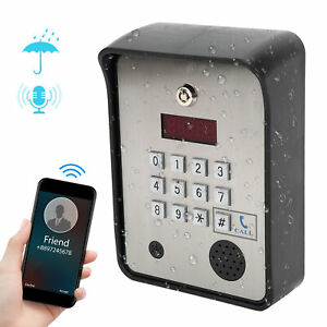3G/GSM Access Control System Intercom Remote Control Waterproof Home Security