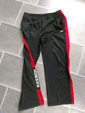 Reebok OS Woven Sport Trainingshose Lauf-Hose Running Pant leicht Schwarz