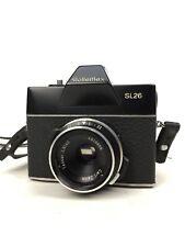 Rolleiflex SL 26 Kamera mit Carl Zeiss Tessar 2.8 / 40mm Objektiv mit Lederetui