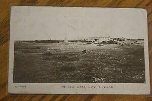 the golf links, hayling Island post card