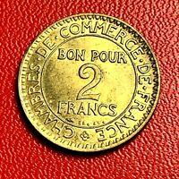 #5475 - 2 francs 1925 CDC SUP - FACTURE