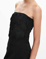NWT Banana Republic $158 Fringe Strapless Dress Size 00P,0P,0,2,4P,6P,8P,8,12P