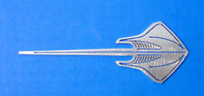Corvette C7 Stingray Car Art Work Brushed Metal Wall Hanging Sculpture