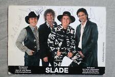 More details for slade ~ management/agent promotional card ~ autographed!