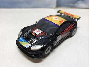 Micro Scalextric Car 1:64 Aston Martin DHL Working