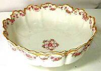 LIMOGES SERVING BOWL LARGE HAVILAND FRANCE MODERN HOME CENTER PIECE TABLEWARE