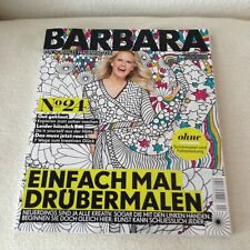 Zeitschrift BARBARA, Kein normales Frauenmagazin, Heft 24, April 2018