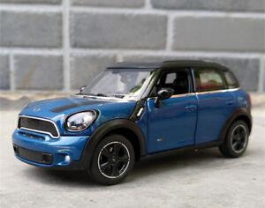Rastar 1:24 Countryman Diecast Alloy Static Sports Car Model For BMW MINI Cooper