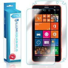 2x iLLumi AquaShield HD Front Screen + Back Panel Protector for Nokia Lumia 1320