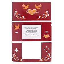 LOVE ROMANCE Skin für Nintendo DS Lite, NDS Lite Schutzfolie, Schutz Aufkleber