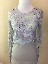 Women's LULULEMON Floral Sleeve Top