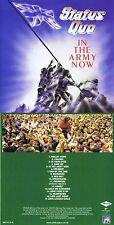 """Status quo """"in the Army Now"""" di 1986! 11 canzoni più sei bonustracks! NUOVO CD!"""