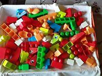 Mega bloks 71 pieces used lot