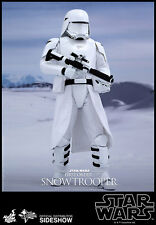 Hot Toys MMS Star Wars Force Awakens First Order Snowtrooper 1/6 Scale Sideshow