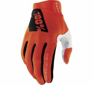 100% Ridefit Mx Motocross Offroad Gloves