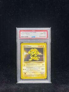 Pokemon Base Set Electabuzz 20/102 - 1999-2000 Print - Graded Card PSA 10